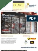 Catalogo Puerta Enrollable Tipo Malla
