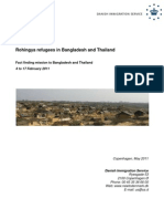 The fact finding report of Rohingya refugees in Bangladesh and Thailand