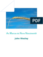 as Marcas Do Novo Nascimento John Wesley