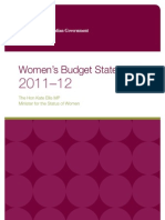 Womens Budget Statement 2011-12