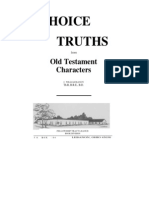 Choice Truths From Old Testament Characters
