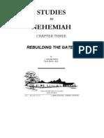Studies in Nehemiah - Chapter Three