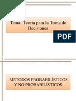 Teorias de Toma de Decisiones1
