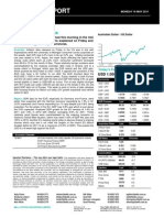 Australian Dollar Outlook 16 May 2011