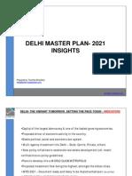 Snapshot of Delhi Master Plan 2021