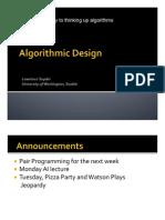 Cse120wi11lec16[1] Algorithmic Design