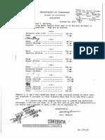 Secret Writing Document Five