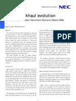 Whitepaper Mobile Back Haul Evolution