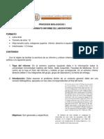 Formato Informe Lab Oratorio Procesos Biologicos i