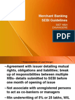 Merchant Banking Sebiguidelines