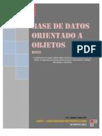 Base de Datos - Orientada a Objetos - DBOO - JVACA