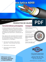 ADSS FO Cable - Spanish