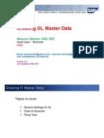 FI-03 - Creating GL Master Data - V3