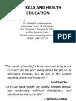 Life Skills and Health Education