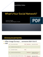 Cse120wi11lec04 Social Networking and Privacy