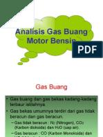Analisis Gas Buang Motor Bensin