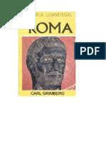 Carl Grimberg - Historia Universal de Roma TOMO III