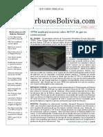Hidrocarburos Bolivia Informe Semanal Del 09 Al 15 Mayo 2011
