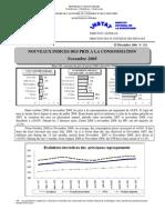 Indices des prix à la consommation - Novembre 2008 (INSTAT - 2008)