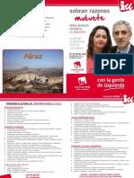 PROGRAMA ELECTORAL DE IZQUIERDA UNIDA DE FÉREZ 2011-2015