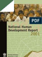 National Human Development Report India 2001