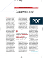 Democracia Local