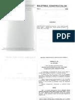 Buletinul Constructiilor Vol 3 2005