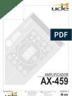 amplificador afx459