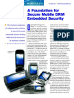 A Foundation for Secure Mobile DRM Embedded Security