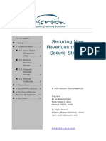 Securing New Revenues through Secure Storage