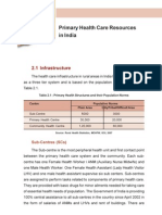 Health Systems Development Primary Health Care Primary Health Care Resources