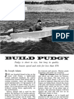 Pudgy a 12 foot canvas runabout boat plans