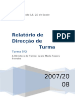 Relatório de DT