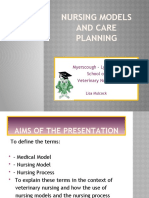 Nursing Models and Care Planning Cc Ppt