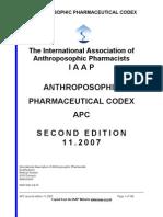 Codex Anthroposophical Pharmacy