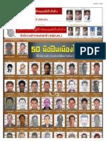 "Police issue list of 112 hitmen-ศูนย์ปราบปรามผู้มีอิทธิพลและมือปืนรับจ้าง"""