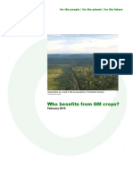 GM Crops - Who Benefits