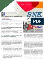 SNK Newsletter- April 2011