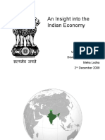 Presentation - An Insight Into the Indian Economy