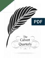 Calvert Quarterly Pilot Issue