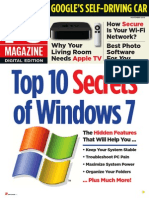 PC Magazine - Top Ten Secrets of Windows 7