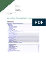 Essay - Green Politics