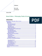 Essay - Green Politics