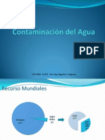 Contaminacin Del Agua 2011