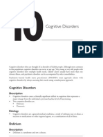 10 Cognitive Disorders