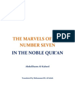 The Marvels of the Number Seven in the Noble Qur'an
