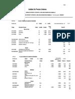 01_analisis de Precios Unitarios