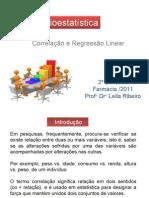 Bioestatistica_Correlação e Regressão
