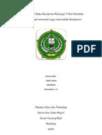 Resume Buku Manajemen Karangan T. Hani Handoko