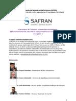 Compte-rendu Safran